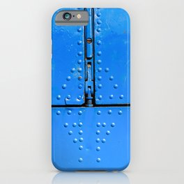 Blue Abstract Of Aviation iPhone Case