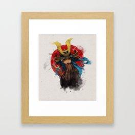 Casul Kabuto Framed Art Print