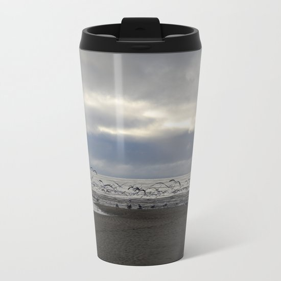 The Seagulls Metal Travel Mug