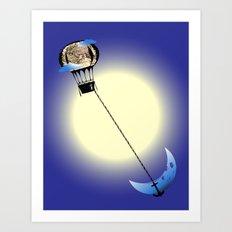 Catch the Moon Art Print