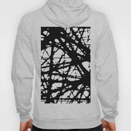 tension, black and white Hoody
