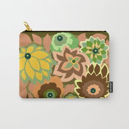 CAMBRIA, ART DECO FLORALS: EARLY AUTUMN Carry-All Pouch