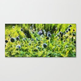 French Blue Canvas Print