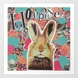 Hoppiness. Art Print