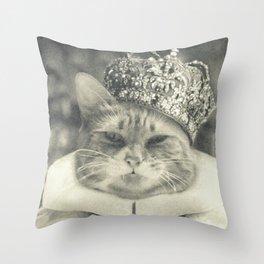 King Calvin Throw Pillow