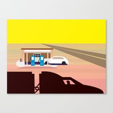 Truck Stop Canvas Print