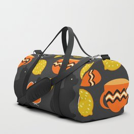 Cats, lemons and teacups Duffle Bag