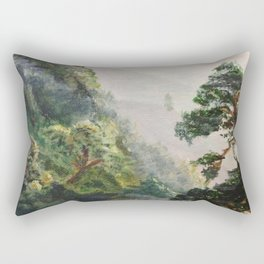 Misty Jungles of Nepal Rectangular Pillow
