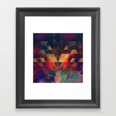 strype splyt Framed Art Print