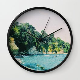 Summer Coast Wall Clock