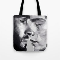 sterek Tote Bags featuring sterek by Finduilas