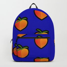 Georgia Peach (Blue) Backpack