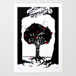 Death by desire Art Print