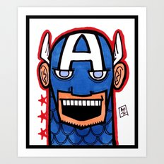 O Cap'n, My Cap'n Art Print