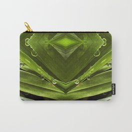 Dew Drop Jewels on Summer Green Grass Carry-All Pouch