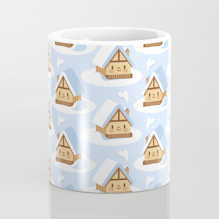 Cute alpine chalet Coffee Mug