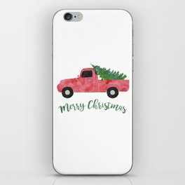 Christmas Tree Shopping iPhone Skin