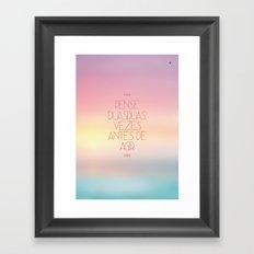 duas Framed Art Print