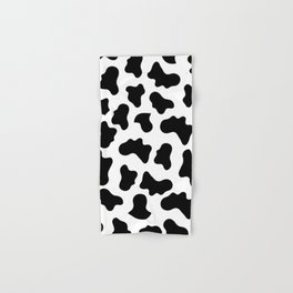 Moo Cow Print Hand & Bath Towel