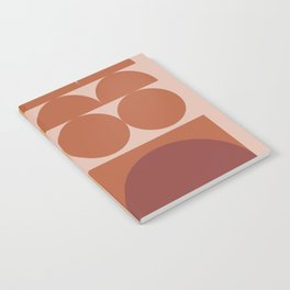 Pink & Brown Notebook