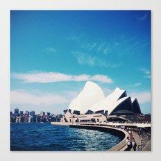 Sydney Sky Canvas Print
