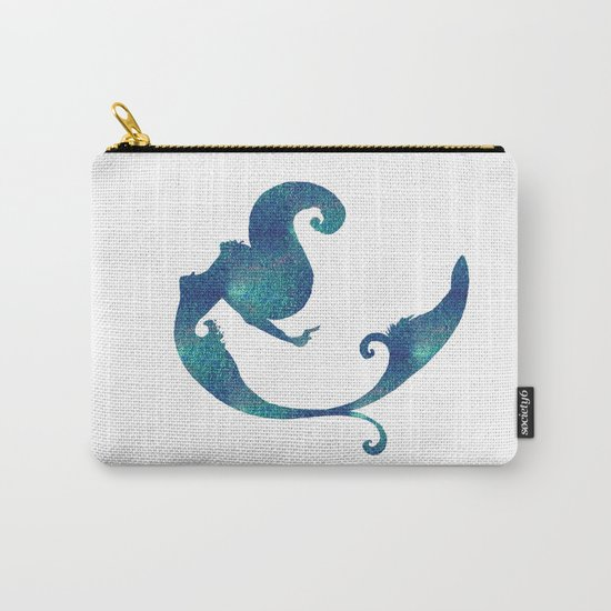 Azure mermaid Carry-All Pouch