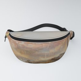 "J.M.W. Turner ""Modern Rome – Campo Vaccino"" Fanny Pack"