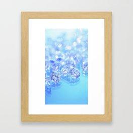 loose stones Framed Art Print