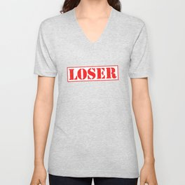 LOSER Unisex V-Neck