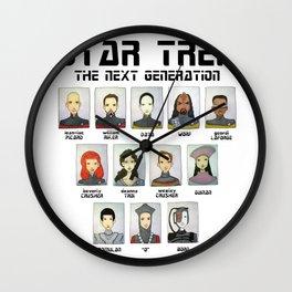 STAR TREK THE NEXT GENERATION Wall Clock