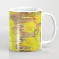 polka dot Mugs featuring Polka Dot Jellyfish by mark jones