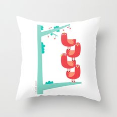 Teamwork Throw Pillow