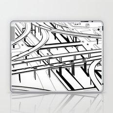 Los Angeles Black and White Laptop & iPad Skin