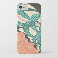 swim iPhone & iPod Cases featuring swim by Laura Graves
