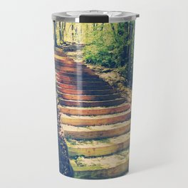 Stairway Into The Forest Travel Mug