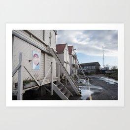 Sea Wall | Tollesbury England Art Print