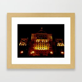 Night Crest 1 Framed Art Print