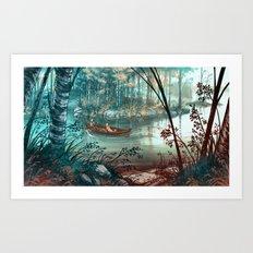 Strait - Salmi Art Print