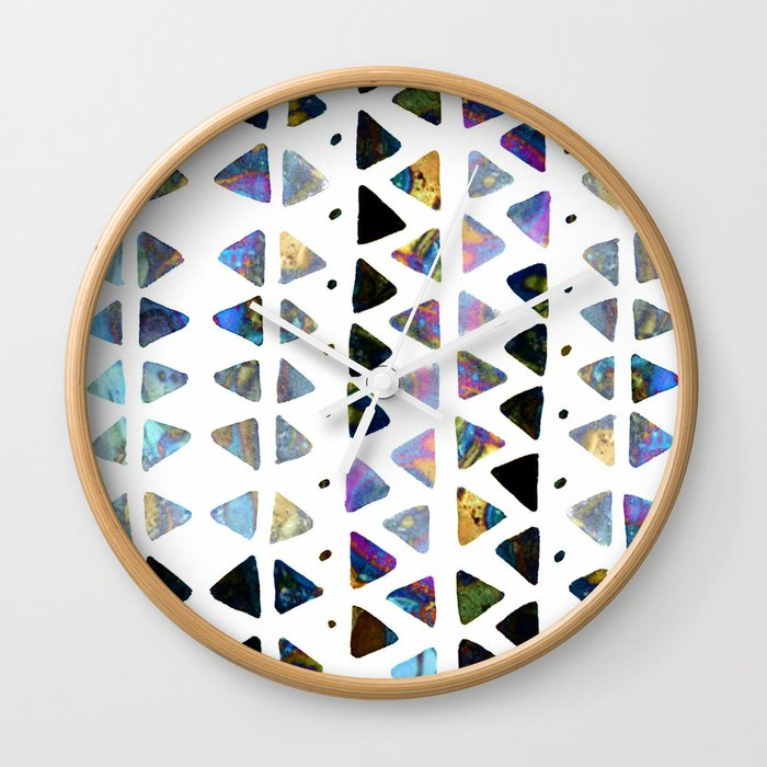 triangle play Wall Clock