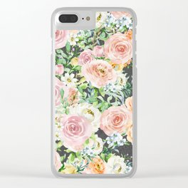 Blooming Touches Clear iPhone Case