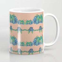 Large Succulent Elephant Family Coffee Mug