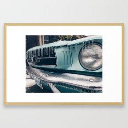 baby's first winter Framed Art Print