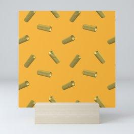 pasta rigatoni Mini Art Print