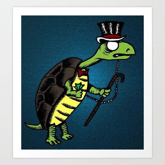 Citizen Turtle Art Print