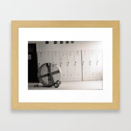 The Fan Framed Art Print