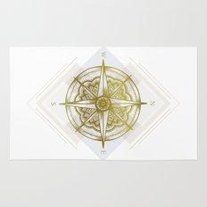 Golden Compass Rug