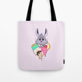 Bunnies - Icecream Tote Bag