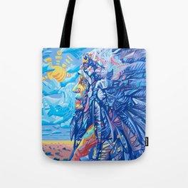 native american portrait 3 Tote Bag