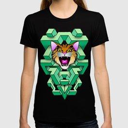 Geometry Cat T-shirt