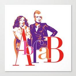 AbFab Canvas Print